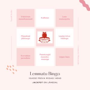 Lemmatu Bingo